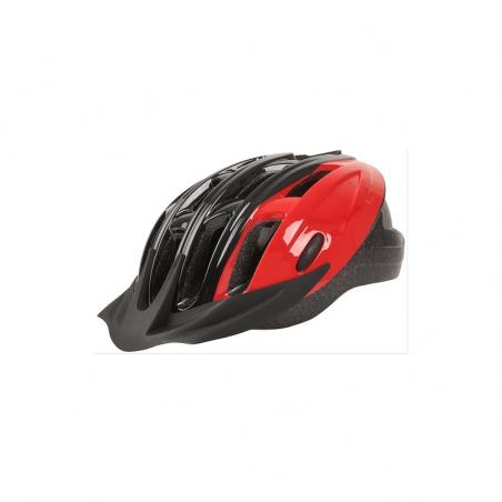 Casco dynamic inmold negro/rojo t-l 58-62cm