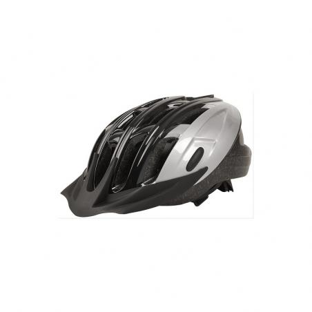 Casco dynamic inmold negro/plata t-l 58-62cm