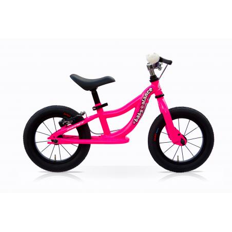 "Bicicleta 12"" balance sin pedales rosa"