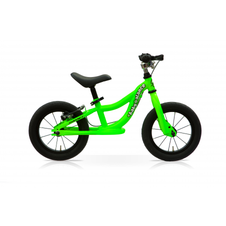 "Bicicleta 12"" balance sin pedales verde"