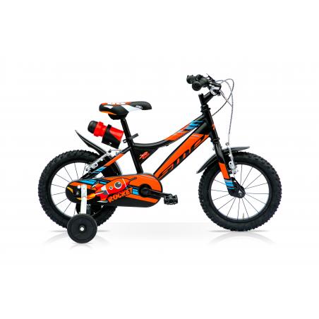"""Bicicleta boy 12"""" 1v rocket negra"""