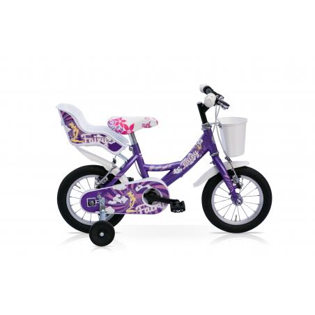 """Bicicleta 14"""" 1v fairy morada"""