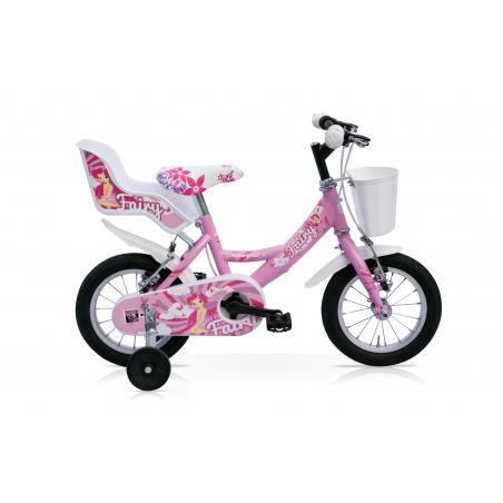 "Bicicleta 14"" 1v fairy rosa"