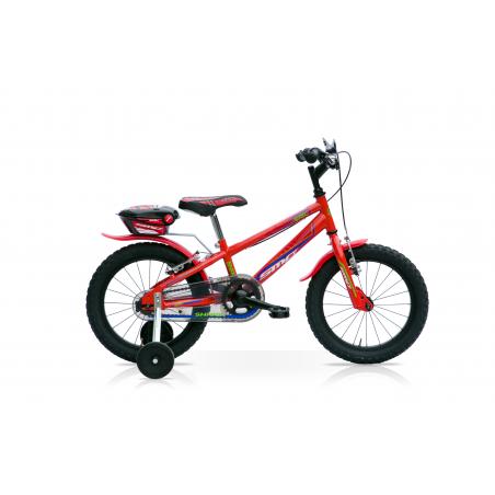 "Bicicleta boy 16"" 1v shark roja"